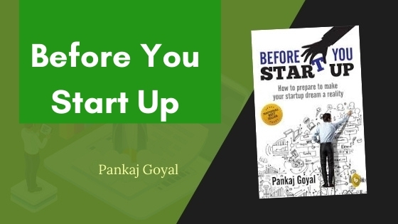 Before you start up summary