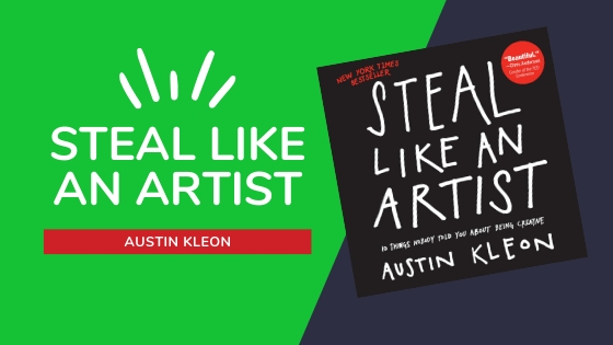 STEAL LIKE AN ARTIST SUMMARY COVER