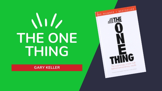 THE ONE THING SUMMARY COVER